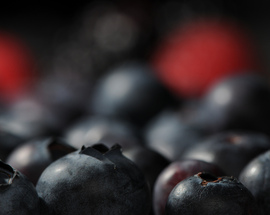 Blueberries are one example of a healthy superfood