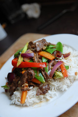 Make a stir fry to save time eating better
