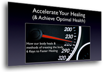 Accelerate Your Healing class provided by our Canton Chiropractors